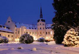 Schloss Ralswiek im Winter