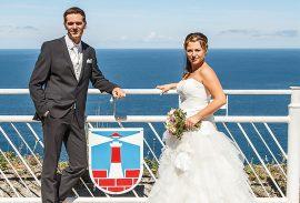 Brautpaar am Königsstuhl