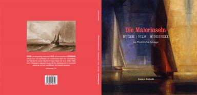"""Titel und Rücktitel des Buches """"Die Malerinseln"""" von Reinhard Piechocki"""