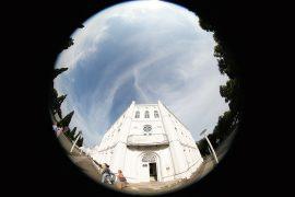 Blick auf das Gebäude CIRCUS EINS