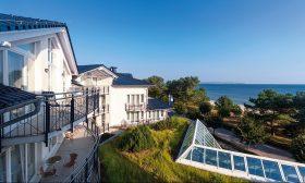 Blick vom Dorint Strandhotel auf die Ostsee