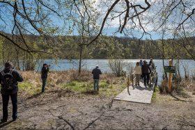 Wandergruppe am Schwarzen See