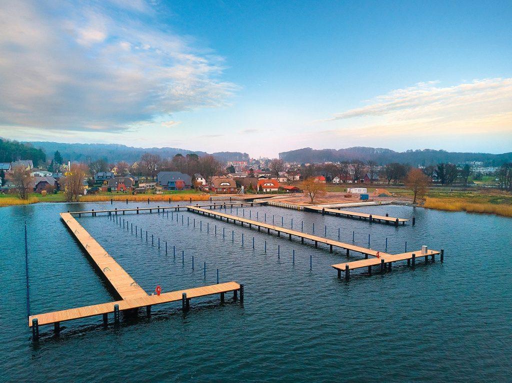 Hafenanlage des Wasserwanderratsplatzes Sellin