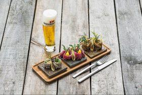 Bierspezialitäten und kulinarische Köstlichkeiten