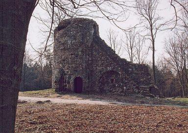 Ruine des alten Wasserturmes